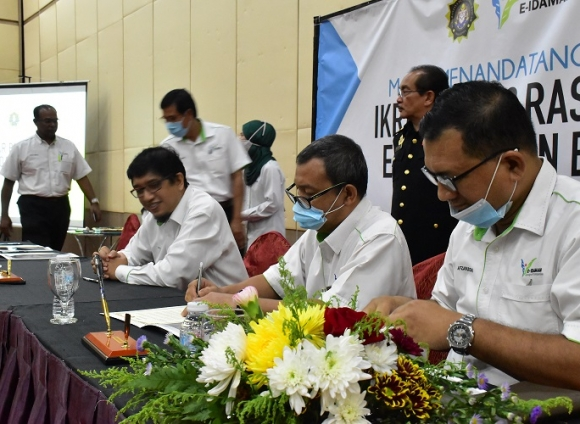 E-IDAMAN ANTI-BRIBERY & CORRUPTION PLEDGE CEREMONY
